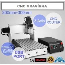 CNC mini gravírka 3020T/T4